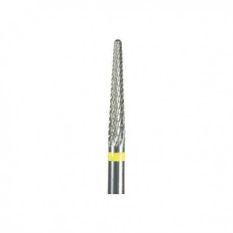 Frez do akrylu i żelu fi 2,3/14,0mm stożek