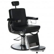 BD-2121 Fotel dla golibrody LUMBER Czarny