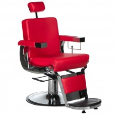 BD-2121 Fotel dla golibrody LUMBER Czerwony