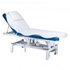 BD-8230  Elektryczny stół do masażu Biało-niebieski