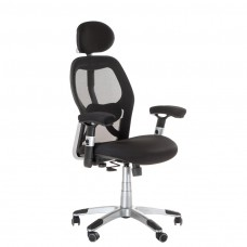 BX-4144 Fotel biurowy Czarny