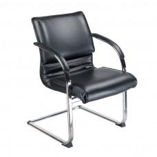 BX-3339B Krzesło konferencyjne / do poczekalni Czarne