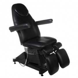 Fotel kosmetyczny / pedicure AMALFI Czarny